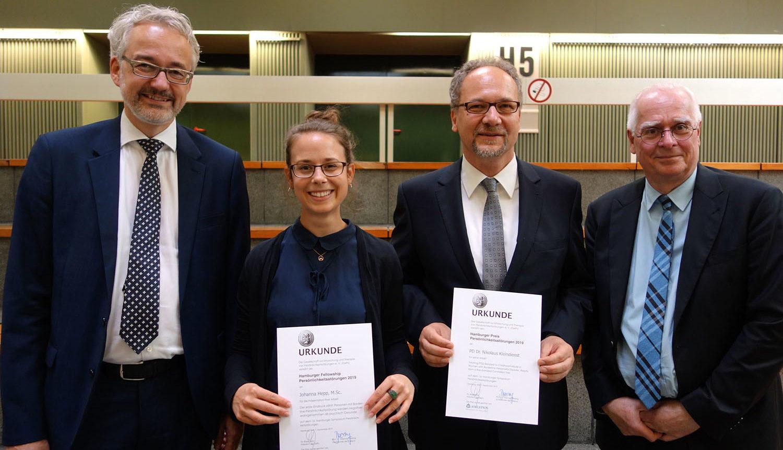 Preiträger und Jury Hamburg-Preis Persönlichkeitsstörungen